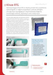 Klisze RTG - FM Dental Produkty Dla Stomatologii