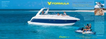 Excellence seems essential to pleasure on the water. - Formula Boats