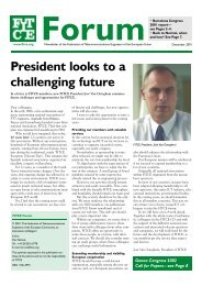 President looks to a challenging future - Federation of Telecoms ...