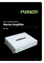 FM-402 User Manual English - Fusion