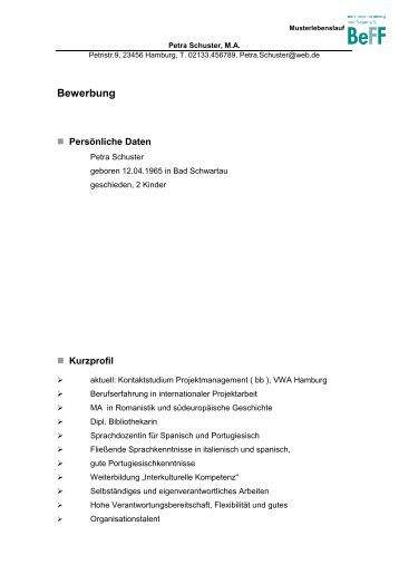 bewerbung weiterbildung in baden wrttemberg - Bewerbung Weiterbildung