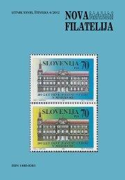 Številka 4, letnik 2012 - Filatelistična zveza Slovenije