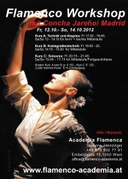 Flamenco Workshop - Academia Flamenca