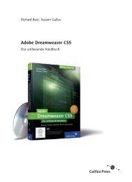 Adobe Dreamweaver CS5 (PDF) - Galileo Design