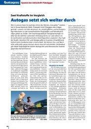 Autogas setzt sich weiter durch - Flüssiggas-Magazin