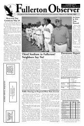 May 2009 - Fullerton Observer