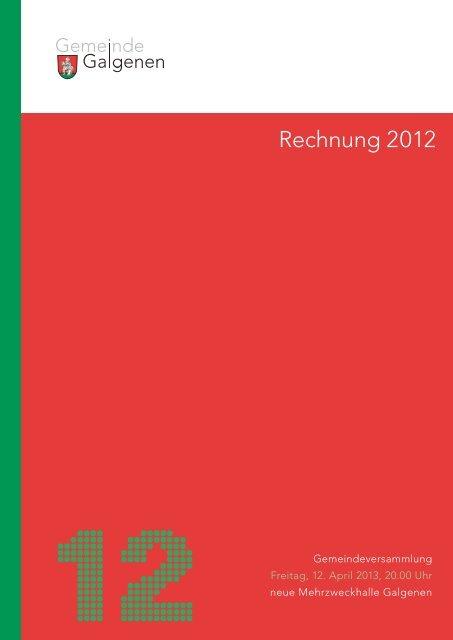 Rechnung 2012 [PDF, 332 KB] - Galgenen