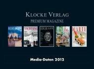 ERSCHEINUNGS- UND ... - Klocke Verlag GmbH