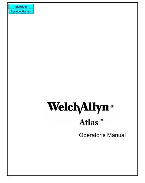 Welch Allyn Atlas Monitor - Frank's Hospital Workshop
