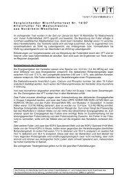 VFT-Mischfutter-Test Nr. 14/07 - Der Verein Futtermitteltest (VFT)