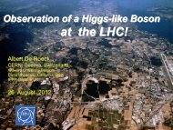 Observation of a Higgs-like Boson at the LHC! (pdf)