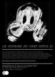 Le sourire du chat (opus 2) - Frac des Pays de la Loire