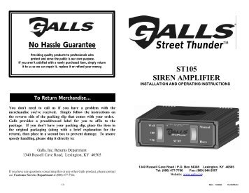 no hassle guarantee galls?quality=85 siren model gs 150 galls galls st160 wiring diagram at bayanpartner.co