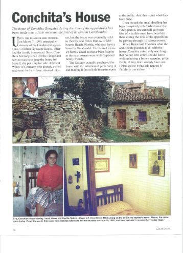 Conchita's Family Home - Garabandal