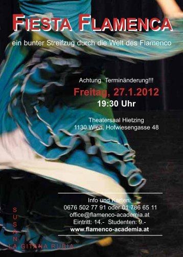 FIESTA FLAMENCA FIESTA FLAMENCA - Academia Flamenca