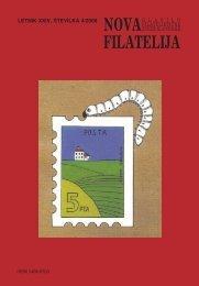 Number 4, year 2008 - Filatelistična zveza Slovenije