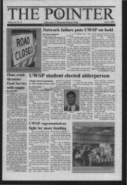 Pointer - University of Wisconsin - Stevens Point