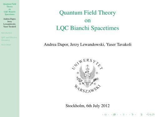 Quantum Field Theory on LQC Bianchi Spacetimes