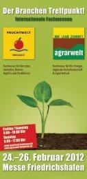 FRUCHTWELT BODENSEE | agrarwelt 2012 | Besucherinformation
