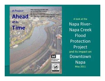 Napa River- Napa Creek Flood Protection Project Downtown Napa