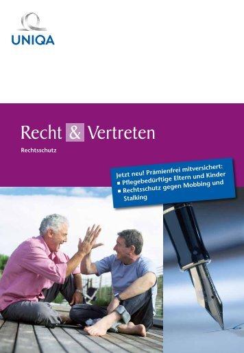 Recht & Vertreten - Uniqa Versicherungen AG