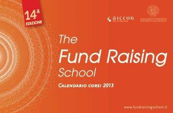 BROCHURE scarica il pdf - Fundraising School