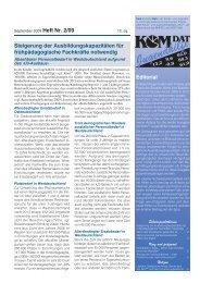 KomDat Jugendhilfe Heft 2/2009 - ABA Fachverband Offene Arbeit ...