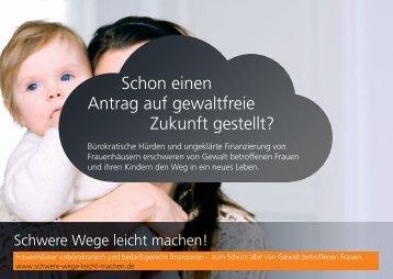 Schon einen Antrag auf gewaltfreie Zukunft gestellt? - LAG NRW