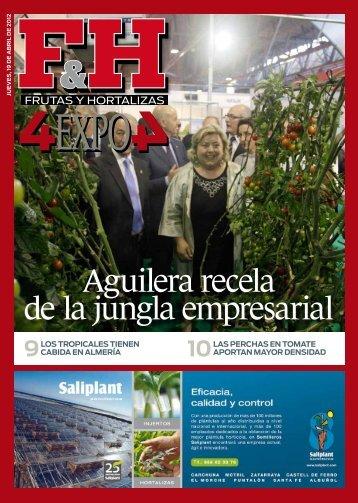 Aguilera recela de la jungla empresarial - Revista F&H