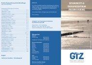 GTZ-Flyer (als pdf) - Friedrichskoog