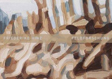FRIEDERIKE HINZ FELDFORSCHUNG