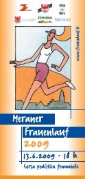 Meraner Frauenlauf