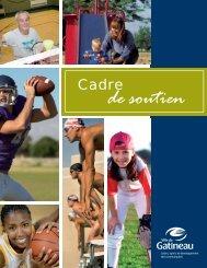 Cadre de soutien 2010.indd - Ville de Gatineau