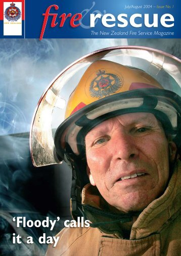 'Floody' calls it a day - New Zealand Fire Service