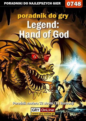Hand of God - Gandalf