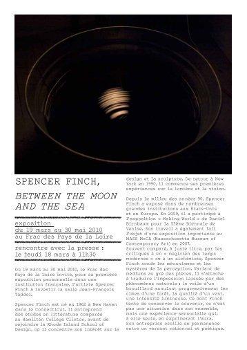 Communiqué de presse cp_finch.pdf - Frac des Pays de la Loire