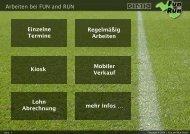Arbeiten bei - FUN and RUN GmbH