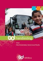 Handleiding voor professionele buschauffeurs - GO! onderwijs van ...