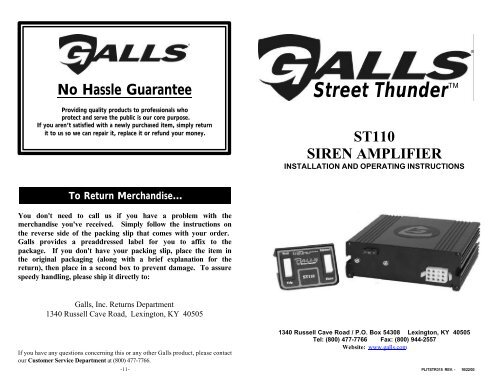 Galls Street Thunder Siren Wiring Diagram from img.yumpu.com