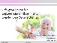 Barbara Schulte - Forum Gesundheitswirtschaft Basel