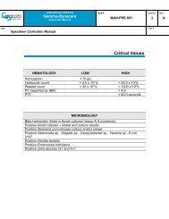 Critical Values-Quebec [PDF] - Gamma-Dynacare