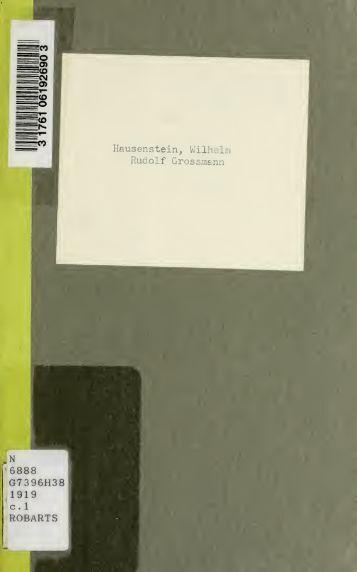 Rudolf Grossmann - Scholars Portal