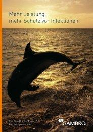 EverFlow Dolphin Protect™ Broschüre - Gambro