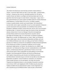 Andreas Hildebrandt« · Constanze von Marlin - galerie baer