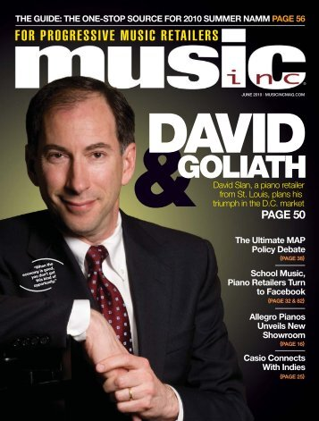 GOLIATH - Music Inc. Magazine