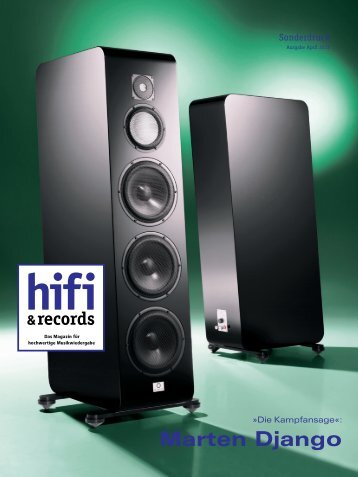 hifi & records Marten Django