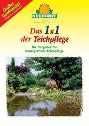 Teichpflege von Neudorff - Gartenversand Omega