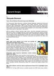 Aralık 2009 Garanti Dergisi - Garanti Bankası