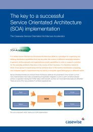 The key to a successful Service Orientated Architecture (SOA ...