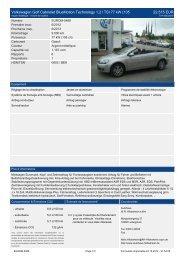 Volkswagen Golf Cabriolet Bluemotion Technology 1 2 l TSI 77 kw ...